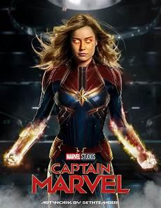 Artwork Captain Marvel By Sethtember My Take On The