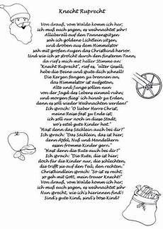 knecht ruprecht gedicht weihnachtsgedicht gedichte