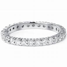 Eternity Wedding Bands 1 00ct eternity wedding ring 14k
