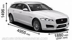 dimensions jaguar f pace dimensions des voitures jaguar avec longueur largeur et