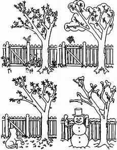 Malvorlage Apfelbaum Jahreszeiten Ausmalbilder Jahreszeiten Calendar June