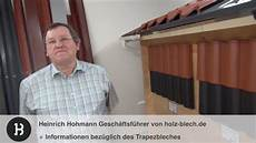informationen zum trapezblech f 252 r gartenh 228 user holz