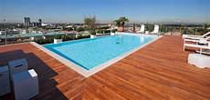 piscine su terrazzi soluciones y trucos para una piscina en la terraza
