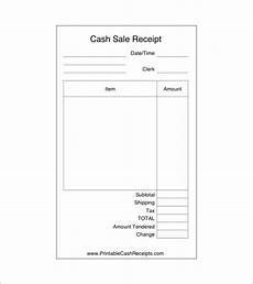 sales receipt template 8 free word excel pdf format