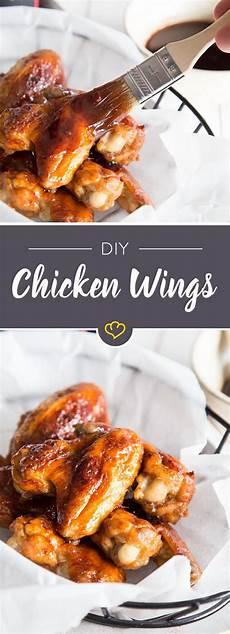 Chicken Wings Backofen - chicken wings mit barbecue honig marinade rezept