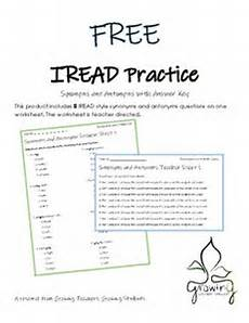 free synonyms and antonyms iread practice by growing