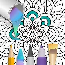 100 mandala coloring pages apk mod 2 0 5 on android