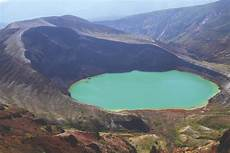how crater lakes form how it works