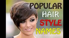 Hairstyle Names For