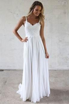 a line spaghetti straps lace top beach wedding dresses a line spaghetti straps lace top beach wedding dresses angrila