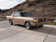 Ford Mustang Convertible 1965 Prairie Bronze Metallic For