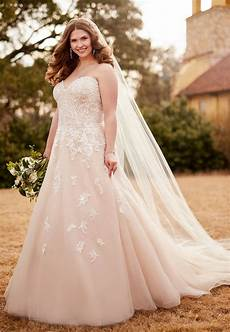 best plus size wedding dresses shop beautiful wedding gowns for curvy figures instyle com