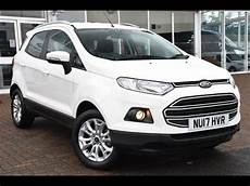 used ford ecosport 1 5 zetec 5dr frozen white 2017 youtube