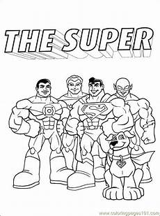 dc comics coloring pages at getcolorings free