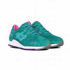 asics gel lyte iii 3 quot all weather quot tropical green pink
