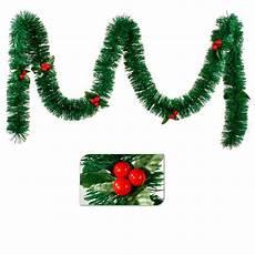 Guirlande De Noel Houx Avec Feuilles Decoration De Noel