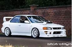 That Frozen White Subaru Impreza Sti Wangan Warriors