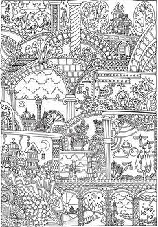 coloring page free downloadable printable from dover