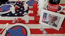 deco theme usa 17 f 234 te th 232 me usa d 233 co repas