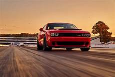 the 2018 dodge challenger srt demon runs 9s makes 840 hp
