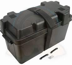 bac à batterie bac 224 batterie compartiment 233 tanche pour batterie 39 5x17x20cm avec sangle de fixation noir sk9238