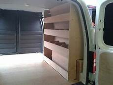 vw caddy maxi plywood racking storage racking plywood shelving ebay