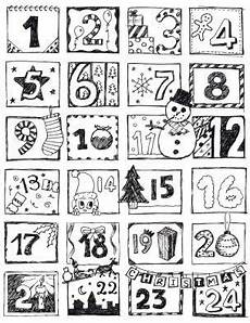 make advent calendar craft