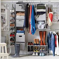 Space Saving Bedroom Closet Closet Organization Ideas by Tips For Organizing A Small Reach In Closet Hgtv S