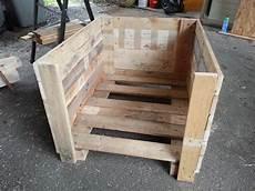 ludo la bricole niche en bois de palettes