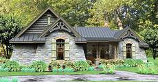 single story modern cottage in rugged rustic 3 bedroom home plan 16863wg
