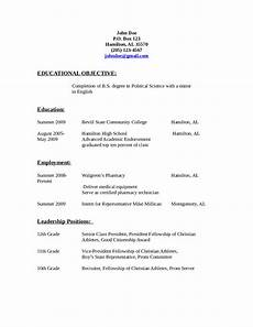 2020 resume objective exles fillable printable pdf forms handypdf