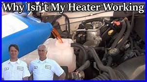 FIX YOUR CARS HEATER In Under 20 MINUTES  YouTube