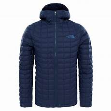 the mens thermoball hoodie navy matte