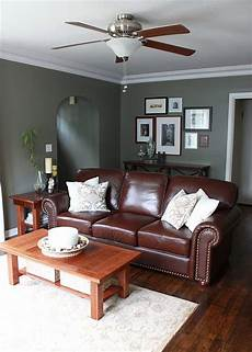 the reddish brown against the green gray wall sophisticated colors and hues