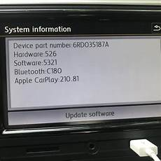 Vw Polo Software Update Composition Audio Software Update