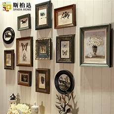 Wooden Photo Frames Vintage Frames For Wall American Retro