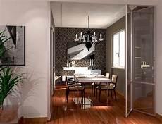 porte de separation vitree cuisine sejour design ideas