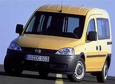 opel combo minivan mpv 2001 2004 opiniones datos