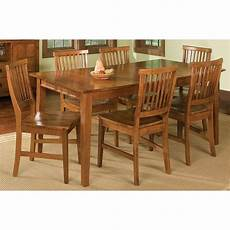 home styles arts crafts 7 piece dining cottage oak