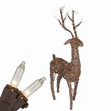Reindeer Decorations Outdoor by Outdoor Decorations 48 Quot Grapevine Standing