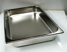 1 2 gastronorm trays 7lt pans commercial kitchen