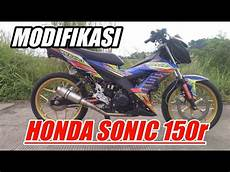 Modifikasi Honda Sonic Road Race by Modifikasi Honda Sonic 150r Road Race