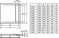 piatto doccia 80 x 90 ideal standard dettagli prodotto k2623 piatto doccia in acrilico