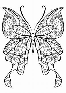 butterflies to color for butterflies coloring