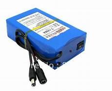 li ion battery 12v 9800mah rechargeable lithium battery