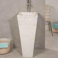 vasque salle de bain sur pied vasque salle de bain sur pied en carr 233 guizeh noir
