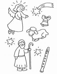 Malvorlagen Christkind Englisch Kostenlose Malvorlage Weihnachten Weihnachtsfiguren Zum