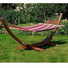 amaca da giardino amaca da giardino singola xl in legno cotone relax