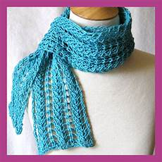 Strickmuster Schal Lochmuster - lace scarf knitting pattern a knitting