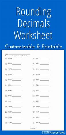 decimals rounding worksheet 7270 128 best math stem resources images on math stem algebra and expanded form worksheets